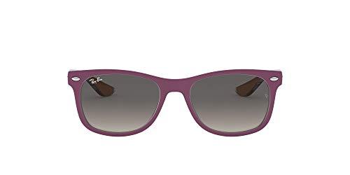 Ray-Ban Rj9052S Gafas de sol, Rectangulares Unisex niños, violeta