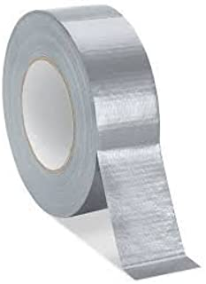No Residue 975 Supply 3 Rolls All Weather Tear by Hand Design 1.89 Inch x 60 Yards Duct Tape - 48mm x 55m USA Seller Silver Color - Professional Grade