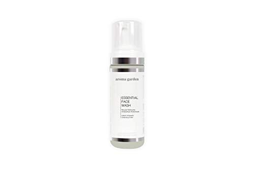 Essential Face Wash - Klärender Reinigungsschaum mit Aloe Vera & Hyaluronsäure - Strahlenden Teint dank Limette - Reinigt und schminkt in einem Schritt ab - Bio & Vegan. Für alle Hautzustände 150ml