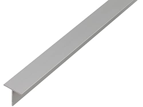 GAH-Alberts 472108 T-Profil | Aluminium, natur | 1000 x 20 x 20 mm