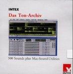 Das Ton-Archiv, CD-ROM Sound-Sammlung. Systemklänge und Sounds für den Macintosh