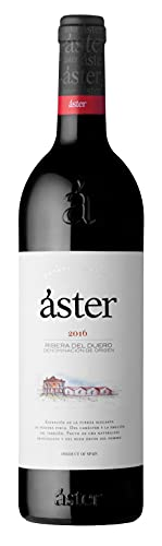 Áster - Vino Tinto Crianza de 2016 D.O. Ribera del Duero 100% Tinta del País | Pack Estuche 6 Botellas 75 cl