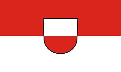Unbekannt magFlags Tisch-Fahne/Tisch-Flagge: Rottenburg am Neckar 15x25cm inkl. Tisch-Ständer