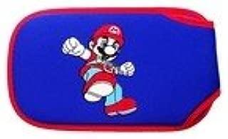 Cartoon Protective Soft Pouch / Bag for PSP 1000 / 2000 / 3000 (Super Mario Bros) - Blue