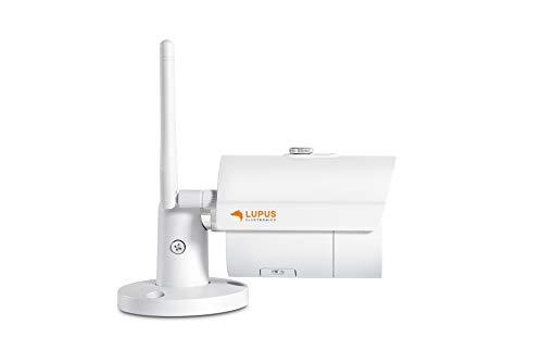 LUPUS WLAN IP Kamera für draußen, SD-Slot, Nachtsicht, deutscher Hersteller, keine Cloud - keine Datenkrake, inkl. APPs + Software für Win/MacOS, dt. Tel. Support