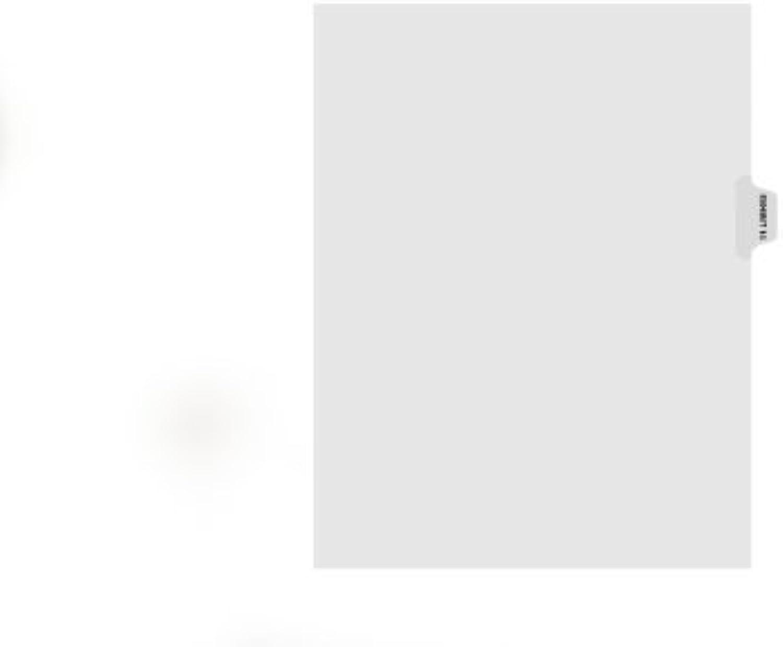 Kleer-Fax Letter-Größe Individual Exhibit Number Number Number Index Dividers, Side Tab, 1 10th Cut, 25 Sheets per Pack, Weiß, Exhibit 14 (80114) by Kleer Fax B0141NB3MK | Ermäßigung  da7598