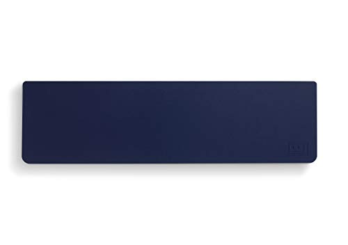 Wooting Tastatur Handballenauflage (Solides Silikon, Hautfreundlich, Ergonomisch) - 445x100x20mm, Mitternachts Blau