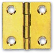 Scharnieren voor meubels van messing, plat, 24 stuks (maat 40 x 35 mm).