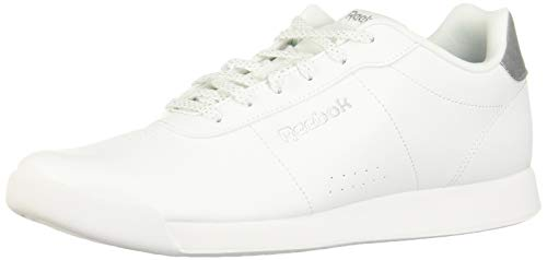 Reebok Damen Royal Charm Multisport Indoor Schuhe, Weiß White Silver Metallic 000, 36 EU