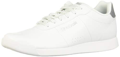 Reebok Royal Charm, Zapatillas de Deporte Interior para Mujer, Blanco (White/Silver Metallic 000), 39 EU