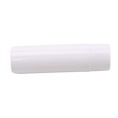 N/A Lotion Crème Blanc Bouteilles Vides Bouteilles De Pompe Airless Conteneur sous Vide Bouteilles De Voyage en Plastique Ensemble,Blanc-120ml