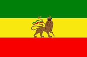 Flagge Fahne Äthiopien mit Löwe 90x150 by Flaggenparadies