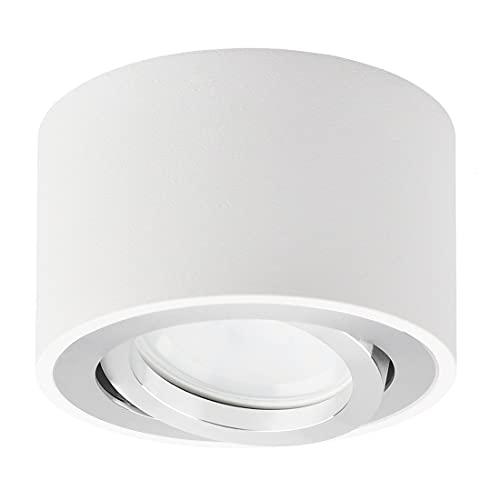 KYOTECH LED Spot Light Faretti da Soffitto Orientabili Ø 80 * 50mm 5W Modulo LED Lampadina inclusa...