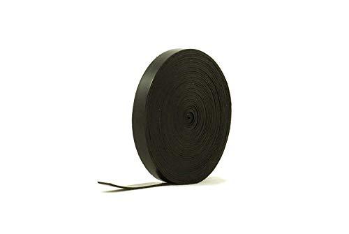 Vollgummistreifen 10 mm breit x 4 mm dick x 5 m lang Schwarz Neopren