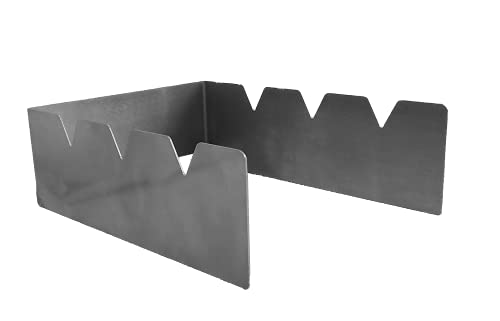 Eigenmarke B C - Soporte para brochetas (acero inoxidable)