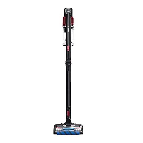Shark Cordless Stick Vacuum Cleaner [IZ300UKT] Anti Hair Wrap, PowerFins, Pet Hair, Single Battery, Black & Red