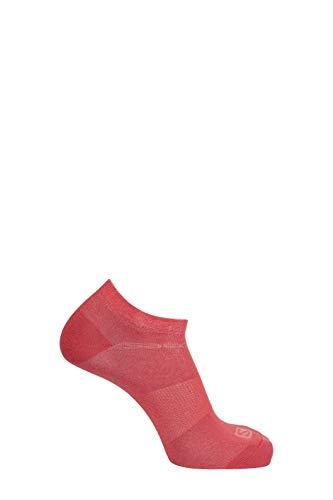 Salomon Unisex-Erwachsene Socks Festival 2-Pack Shell-Jacke, Weinbereitung/Cayenne, Small