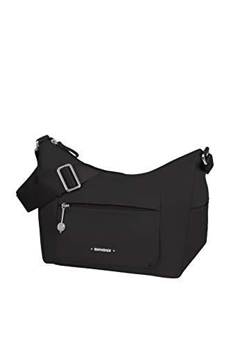 Samsonite Move 3.0 Messenger Bag, Shoulder Bag S with 1 Front Pocket (27 cm), Black (Black)