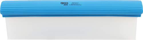 BGS 8855 | Silikon-Wasserabzieher | 300 mm | flexibler Abzieher für Bad, Autowäsche, Fenster etc