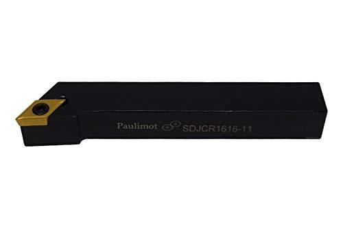 PAULIMOT Drehmeißel mit Schneidplatte 16 x 16 mm SDJCR1616-11