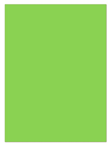 100 Blatt farbiges Briefpapier Lysco Color Paper Lively Grün Format DIN A4 ( 210 x 297 mm ) Papier Farbe Briefbogen Grün (LCP-108)
