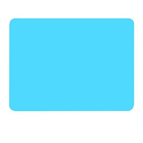 40 * 30cm siliconen bakmat non stick pan liner placemat tafelbeschermer keuken gebak bakvormen mat oven warmte-isolatie pad, blauw, italië