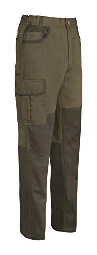 PERCUSSION Herren Sommer Jagdhose Savanne Outdoor Freizeit Wandern Trekking Anglerhose Braun mit Messertasche und Cargotaschen (50)