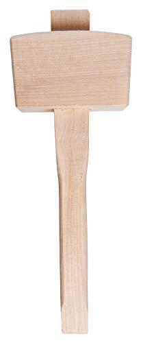 Am-Tech - Martello in legno, 12 cm