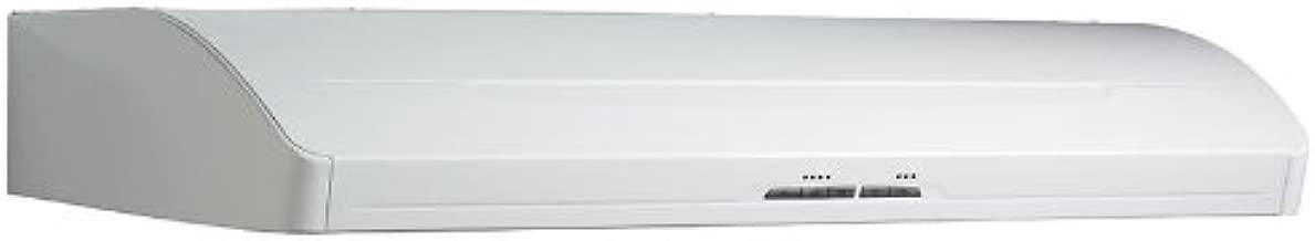 Broan E66136WH Elite Ultra Quiet Range Hood, 36-Inch, White