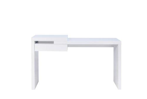 Temahome Schreibtisch in weiß Matt Reef 1 Schublade
