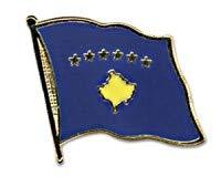 Kosovo vlaggen pin spin vlaggen pin