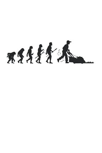Gärtner Evolution Rasenmäher Aufsitzmäher Gartenarbeit Beet: 6x9 Notizbuch