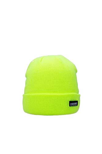 Poederbaas Heren Muts Colorfull Basic CB05 Yellow ONE SIZ