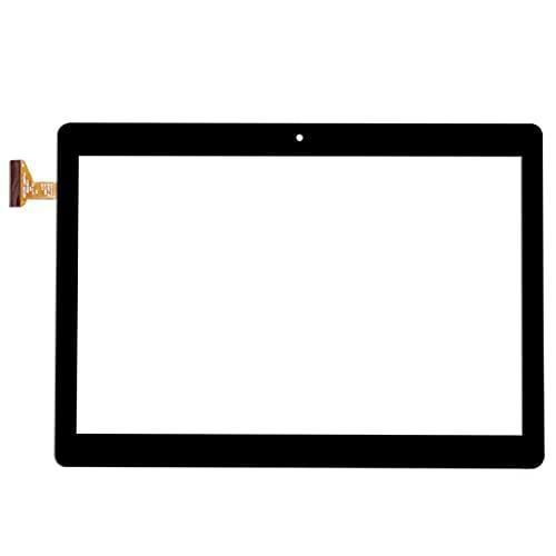 Pantalla de repuesto para tablet de 10.1 pulgadas HZYCTP-102074A Externa capacitiva Pantalla táctil de escritura a mano Pantalla digitalizador Panel Sensor Multitouch (Color: Negro)