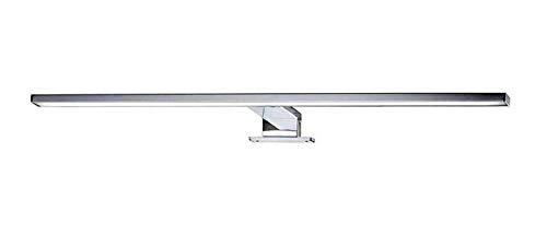 Briloner Leuchten LED Spiegelleuchte, Spiegellampe chrom, 780 Lumen, 4.000 Kelvin, IP44, Metall, 8 W, 600x103x36mm (LxBxH)