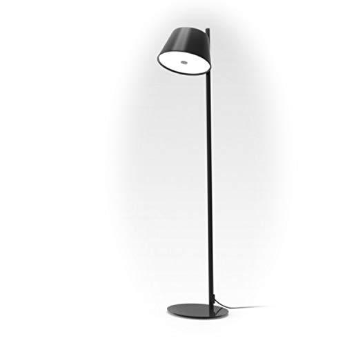 Lámpara Colgante 5 x E14 LED 5W con 3 Pantallas y difusor de metacrilato Opal, Modelo Tam Tam Mini, Color Negro, 66 x 57,5 x 26 centímetros (Referencia: A633-011 39)