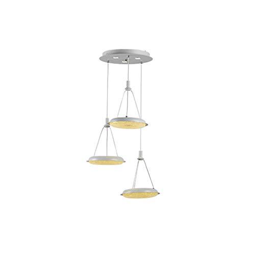 Nordico Moderno Minimalista LED Personalidad Creativa Casa Tres Lamparas, Comedor Dormitorio Sala de estar Frente Arana XYJGWDD