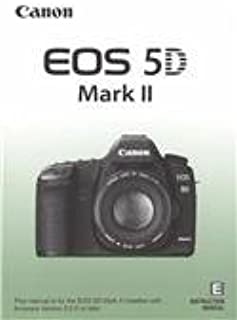 Canon EOS 5D Mark II Original Instruction Manual - English
