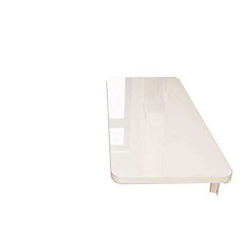 Mesa Plegable Montado en la Pared, Mesa de Comedor, Mesa de Pared, mostrador de Cocina, Mesa de Comedor de Pared (, 90 cm x 30 cm)