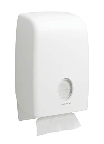 Aquarius 6945 Folded Hand Towel Dispenser, White, 1 x 1 Dispenser
