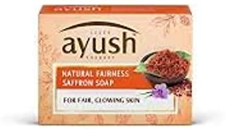 LEver Ayush Natural Fairness Saffron Soap, 100 grams