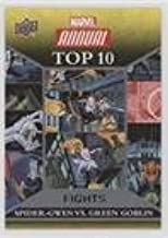 Spider-Gwen; Green Goblin (Trading Card) 2016 Upper Deck Marvel Annual - Top 10 Fights #TF-1