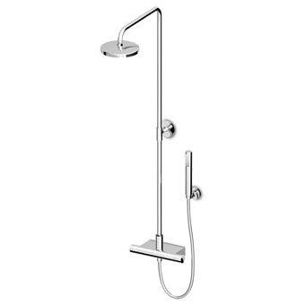 Zucchetti ISYFRESH colonne de douche avec thermostatique zd1050italien laiton pour maison et salle de bain, cuisine