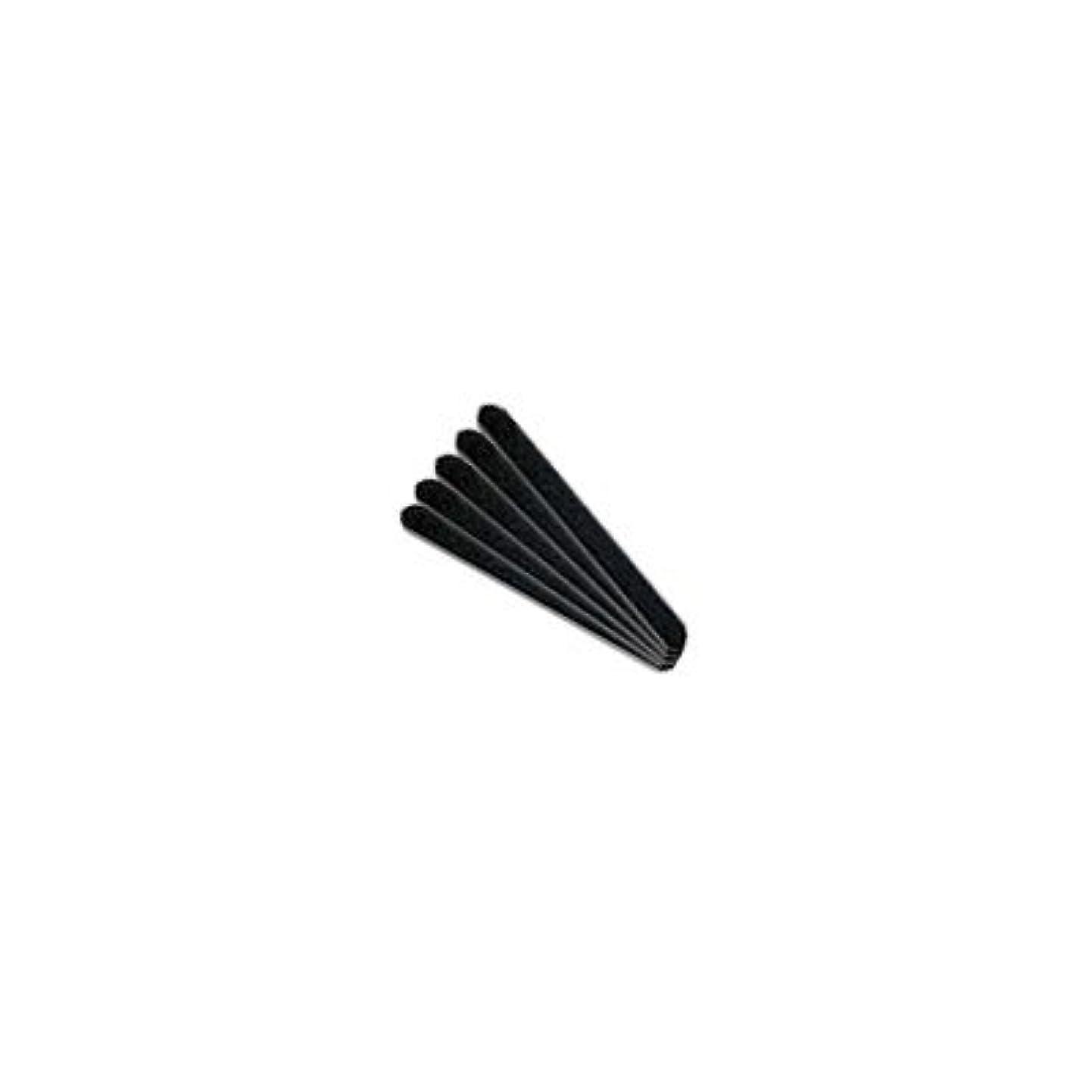 宿るゴム溝フラワリー ブラックエメリー 180/180G 5本入