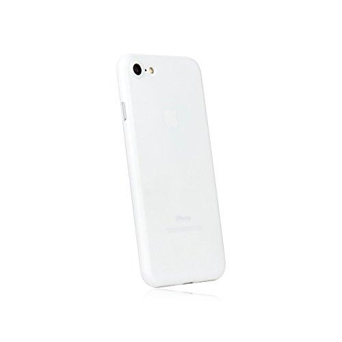 hardwrk Ultra-Slim Case - kompatibel mit Apple iPhone 7/8 und SE 2020 - weiß - ultradünne Schutzhülle Handyhülle Cover Hülle White - Unterstützt kabelloses Laden - Qi - Wireless Charging