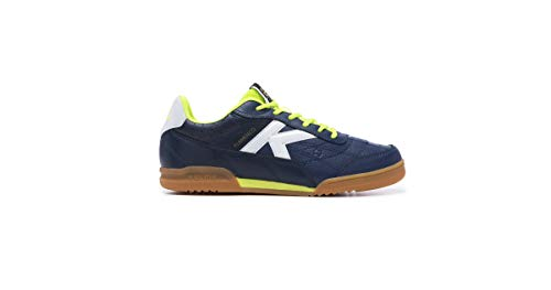KELME Men's Futsal Shoes, Blue Indigo 66, US 8.5
