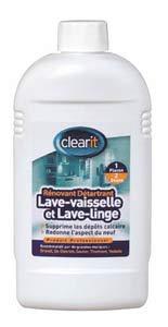 NETTOYANT DETARTRANT LAVE-LINGE CLEARIT POUR LAVE LINGE - 31S0006