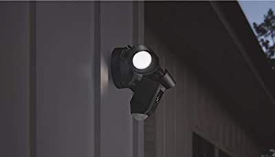 Ring Floodlight Camera Motion-Activated HD Security Cam Two-Way Talk and Siren Alarm