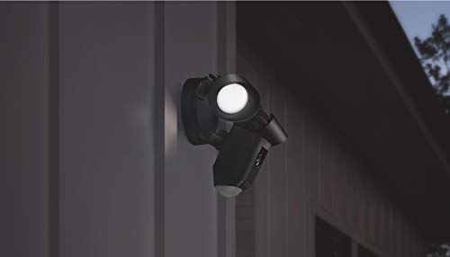Ring cámara HD de seguridad con sensor de movimiento, luces de exteriores, audio y sirena de alarma