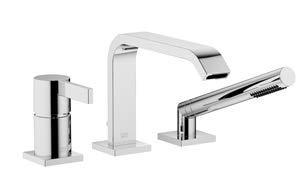 Why Choose Dornbracht IMO Three hole tub set with hand shower set, Platinum matte Finish